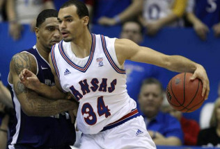 College Basketball Betting: West Virginia at Kansas