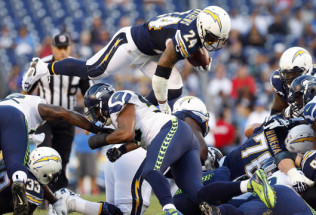 NFL Football Betting:  Pittsburgh Steelers at San Diego Chargers
