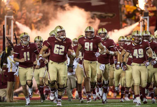College Football Betting:  Boston College at Massachusetts