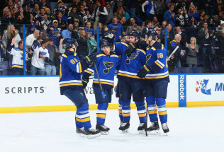 NHL Hockey Betting:  St. Louis Blues at New York Rangers