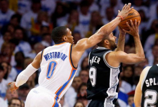 NBA Playoffs Betting: Thunder at Spurs