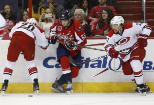 NHL Hockey Betting:  Carolina Hurricanes at Boston Bruins