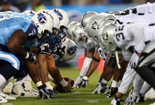 NFL Football Betting:  Jacksonville Jaguars at Tenessee Titans