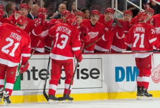 NHL Hockey Betting:  Detroit Red Wings at Carolina Hurricanes