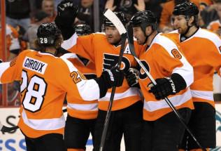 NHL Hockey Betting:  Nashville Preadators at Philadelphia Flyers