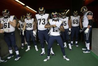NFL Football Betting:  Los Angeles Rams at New England Patriots